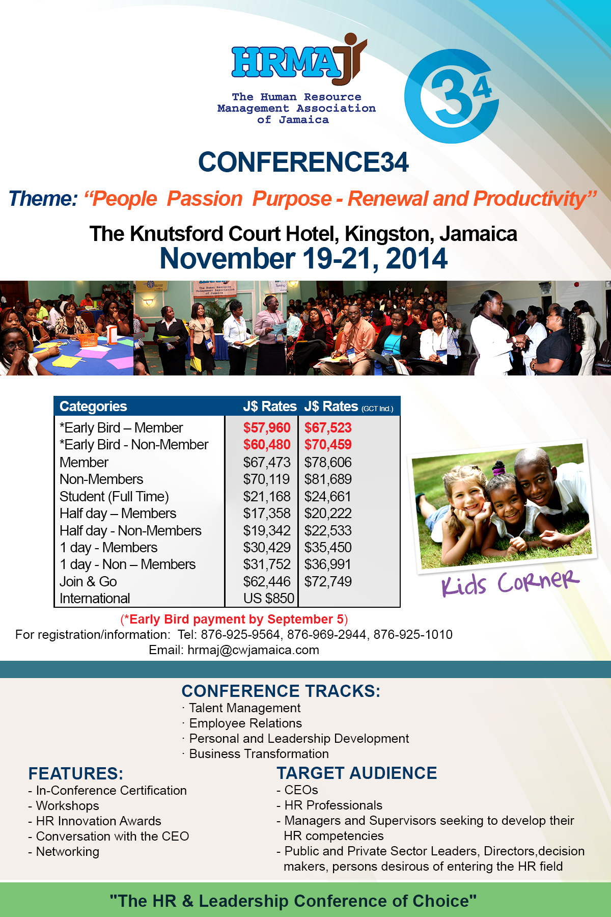 Conference34: People Passion Purpose - Renewal and Productivity