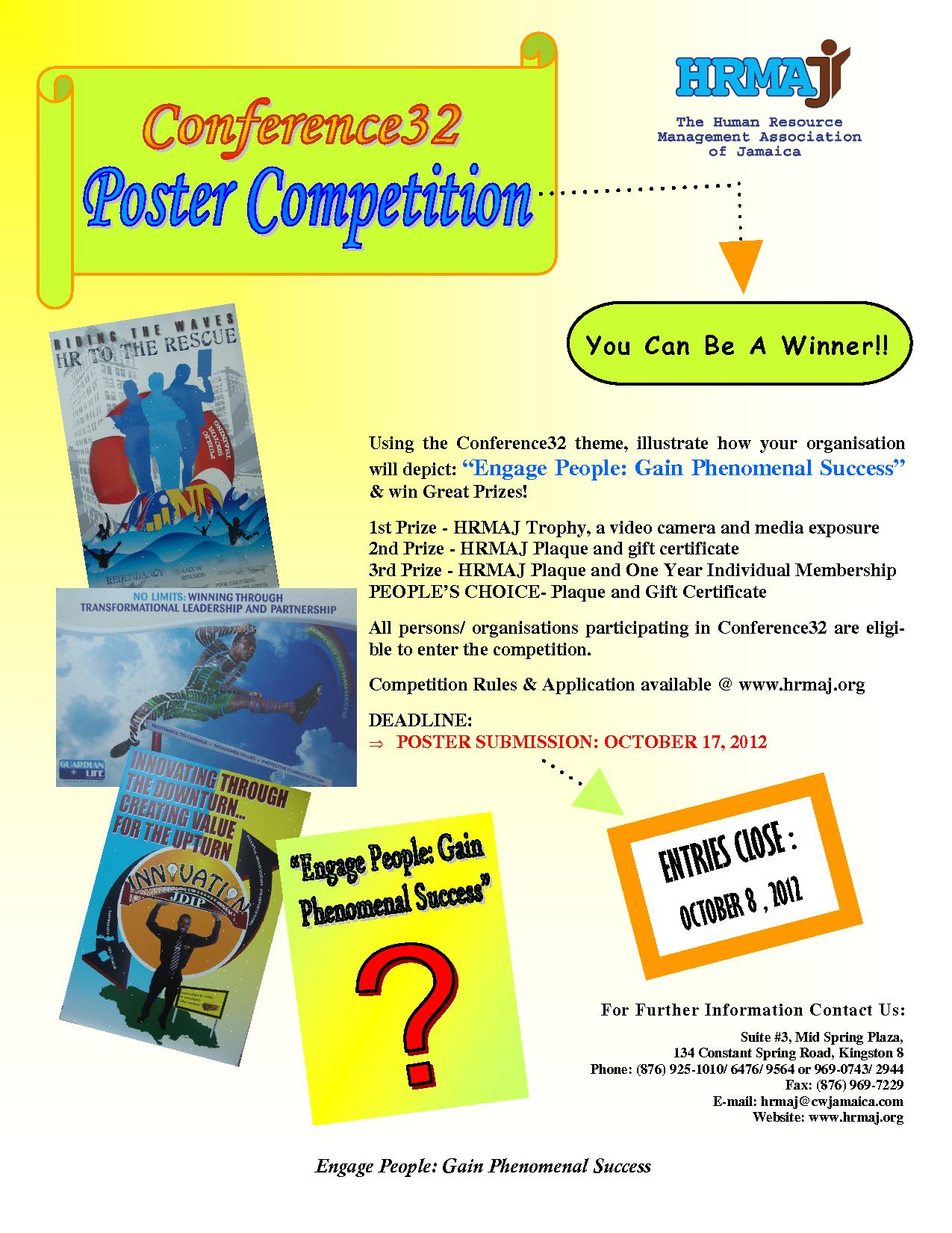 Poster Competition '12