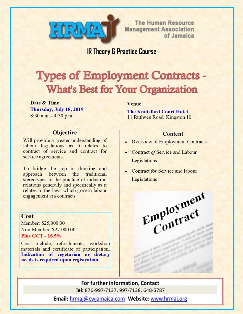 Types of Employment Contracts - What's Best for Your Organization